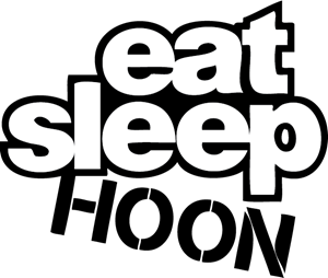 Eat Sleep Hoon Logo Vector