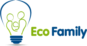Eco Family Logo Vector