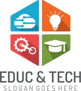 Education and Technology Logo Vector