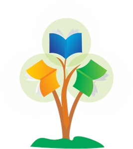 Education Book Tree Logo Vector