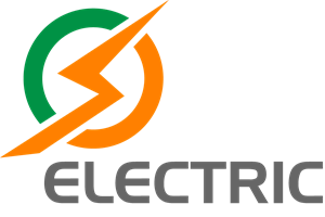 Electric Shape Logo Vector