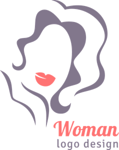 Elegant woman Logo Vector