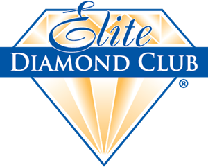 Elite Diamond Club Logo Vector