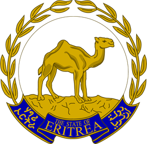 Emblem of Eritrea Logo Vector