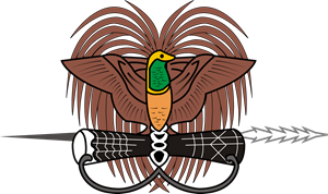 Emblem of Papua New Guinea Logo Vector