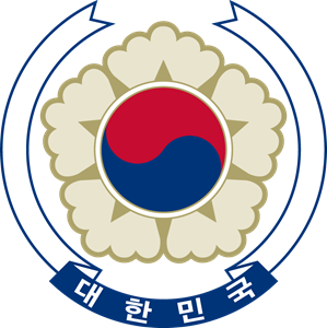 Emblem of South Korea Logo Vector