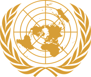 Emblem of the United Nations UN Logo Vector