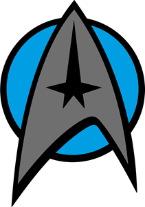 Emblem Star Trek Logo Vector