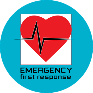 Emergency first response (EFR) Logo Vector