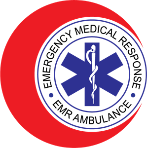 EMR Ambulance Logo Vector