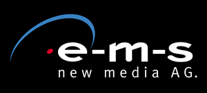 EMS New Media Logo Vector