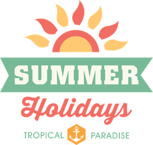 Enjoy holidays Logo Vector