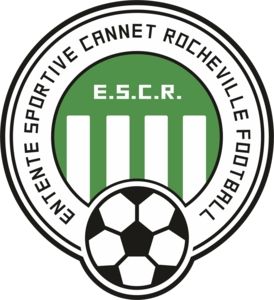 Entente Sportive Cannet Rocheville Football Logo Vector