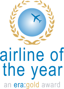 era's Airline of the Year Gold Award Logo Vector