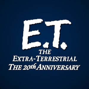 ET The Extra Terrestial Logo Vector