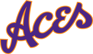 Evansville Purple Aces Logo Vector