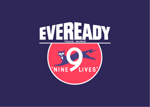eveready - nine lives Logo Vector