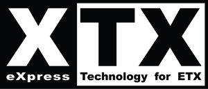 eXpress Technology for ETX XTX Logo Vector