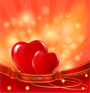 exquisite valentine day Logo Vector