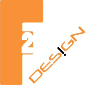F2 Design Logo Vector