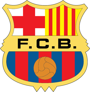 fc barcelona logo vector cdr free download