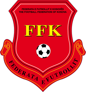 FF Kosova Football Logo Vector