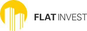 FLAT INVEST Logo Vector
