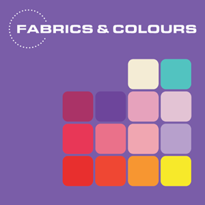 Fabrics & Colours Logo Vector