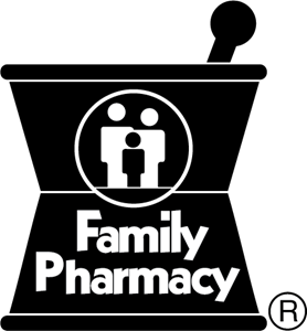 Family Pharmacy Logo Vector