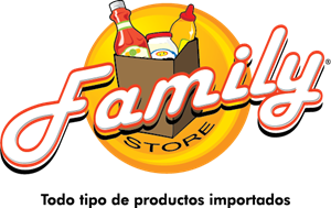Family Store Logo Vector