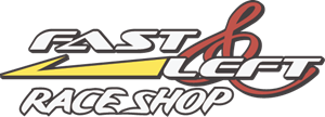 Fast And Left Race Shop Logo Vector