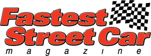 Fastest Street Car Logo Vector