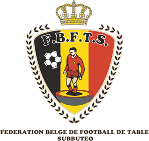 Federation Belge de Football de Table Subbuteo Logo Vector