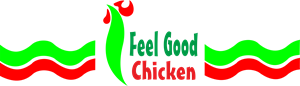 Feel Good Chicken Logo Vector