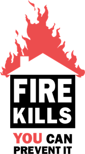 Fire Kills Logo Vector