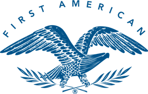 First American Real Estate Logo Vector