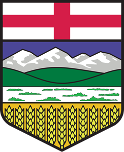 Flag of Alberta Logo Vector