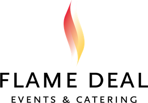 Flame Deal Logo Vector