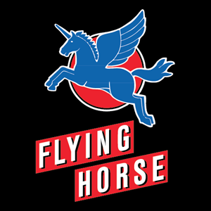 Flying Horse Logo Vector