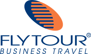 Flytour Business Travel Logo Vector