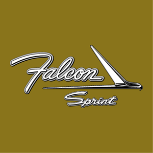 Ford Falcon Sprint Logo Vector
