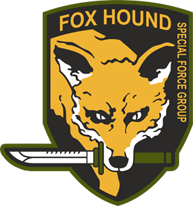 Fox Hound Logo Vector