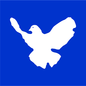 Friedenstaube - Dove of Peace Logo Vector
