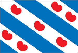 Friese Vlag Logo Vector
