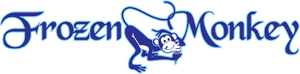 Frozen monkey Logo Vector