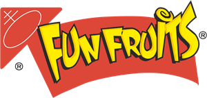 Fun Fruits Logo Vector