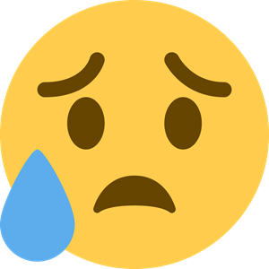 Facebook Cry Emoji Logo Vector