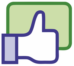 Facebook like button Logo Vector