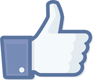 Facebook Like Icon Logo Vector
