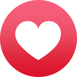 Facebook Reaction: Love Logo Vector